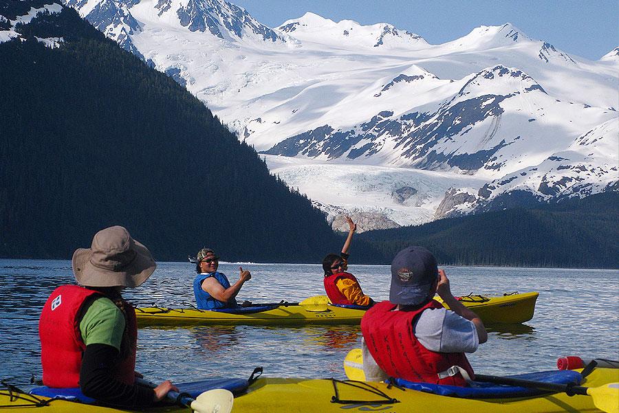 Sea Kayaking Prince William Sound